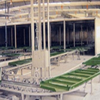 Pallet Conveyer line